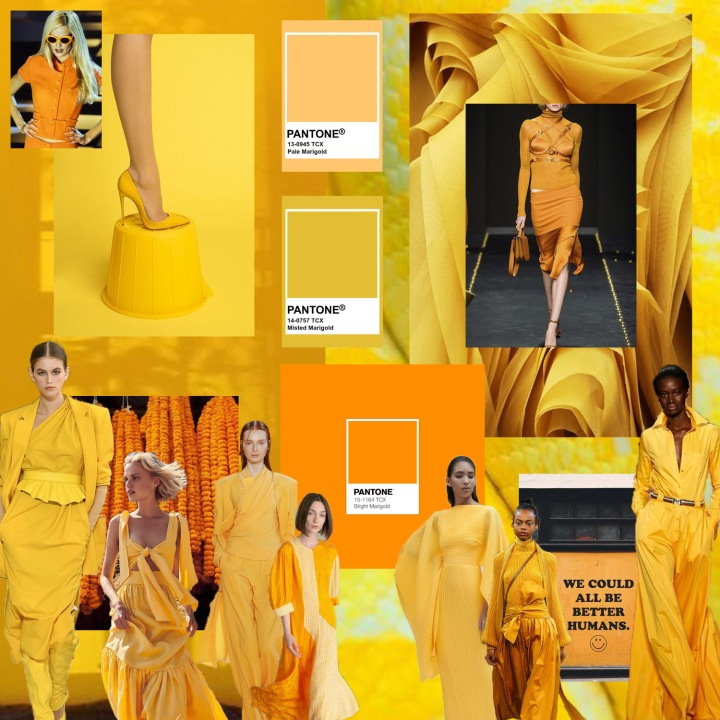Fall '20 Color Story: MARIGOLD
