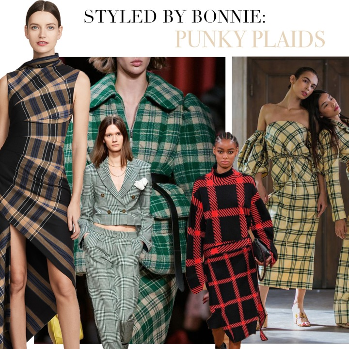 STYLED BY BONNIE: Punky Plaids