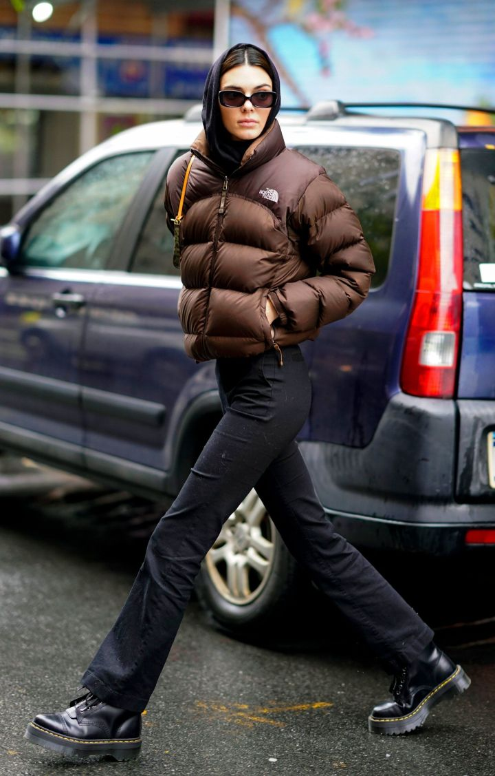 Get The Look: Kendall Jenner's Infamous Brown Puffer